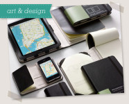 Notebook Cases for iPhone and iPad