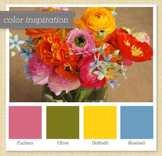 Pink green yellow blue color palette 34 sarah hearts for Palette 34
