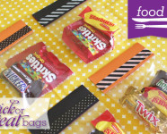 DIY Trick or Treat Candy Bag