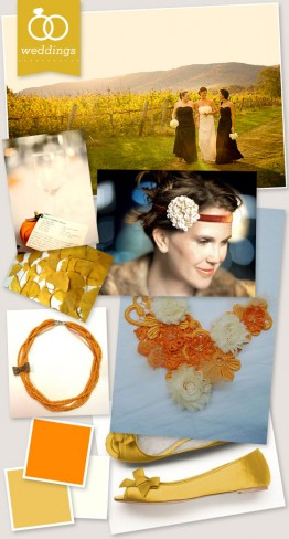 Fall Wedding Inspiration Board
