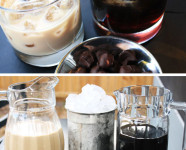 Black and White Espresso Russian Bar