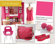 Pantone 2011 Color of the Year : Honeysuckle