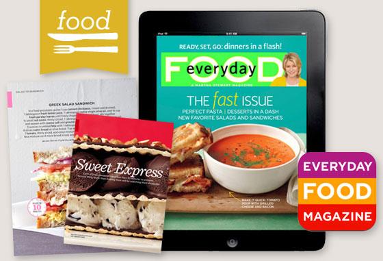 Martha Stewart Everyday Food IPad App Sarah Hearts