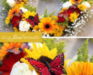 D.I.Y. Fresh Floral Wreath