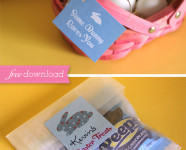 Free Printable Easter Gift Tags and Stickers