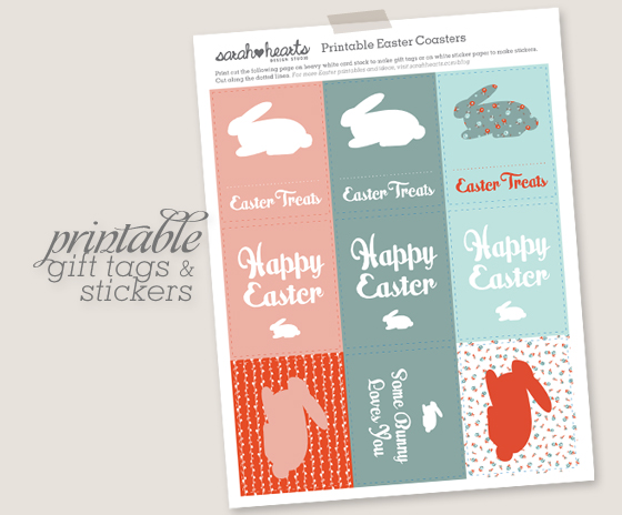 Free printable easter gift tags and stickers sarah hearts save this for later pin it download the free easter printable negle Images