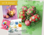 Unique Easter Egg Decorating Idea