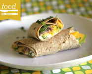 Mango, Avocado, Goat Cheese Wrap