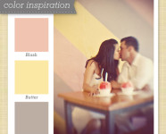 Pink, Yellow and Grey Color Palette