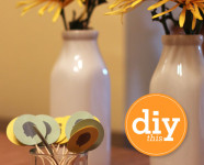 DIY Custom Toothpick Toppers Template