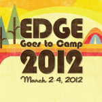 """Edge Goes to Camp"" logo design for Summit Church, Orlando, Florida"