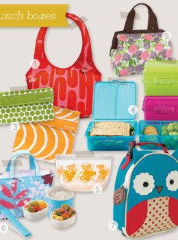 lunch boxes and food storage