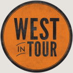 """West in Tour,"" Nick West Logo Design"