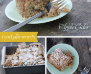 Apple Cider Crumb Cake Recipe