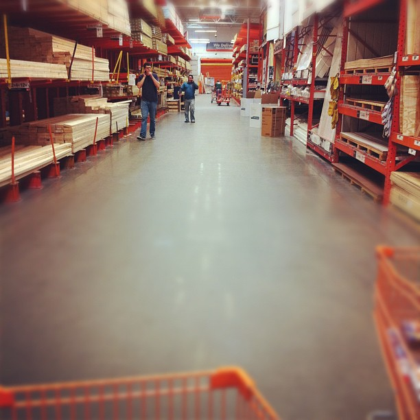 weekend in home depot