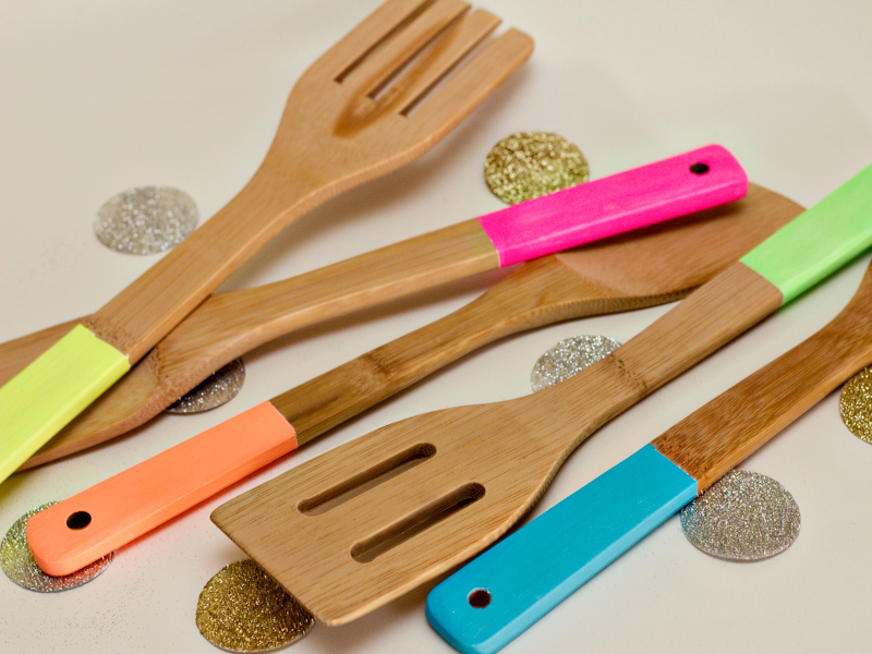 neon kitchen utensils 2