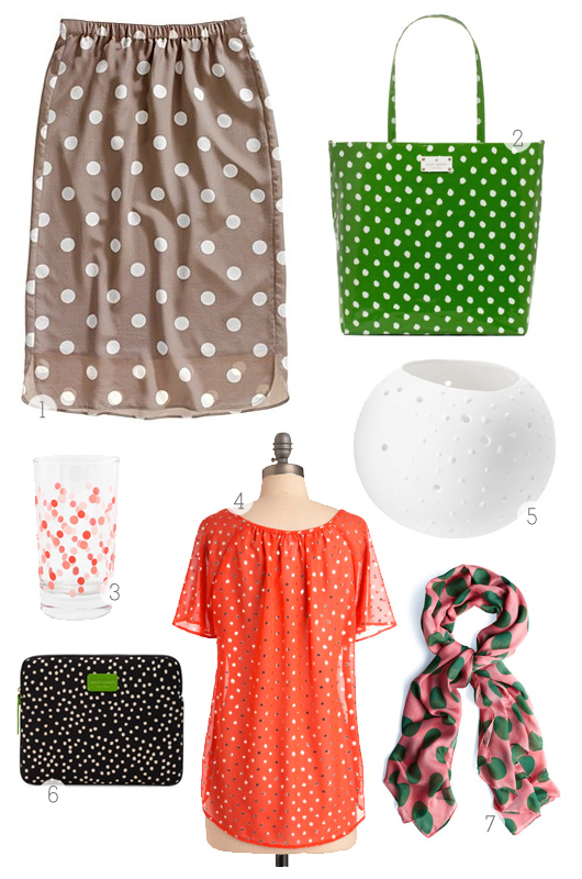 Dot clothing iPad case baby bag and lantern
