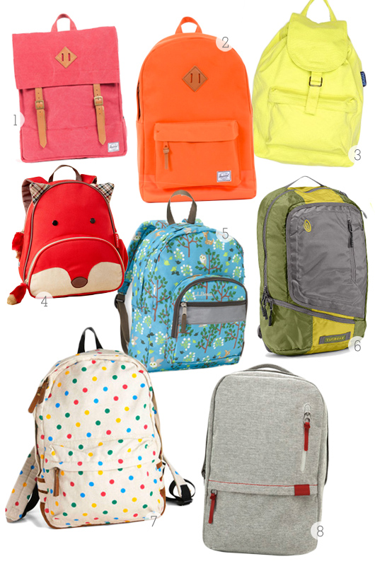 Backpacks and Book Bags - Sarah Hearts