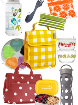 back to school lunch boxes and food storage