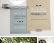 Rustic Modern Wedding Idea Board