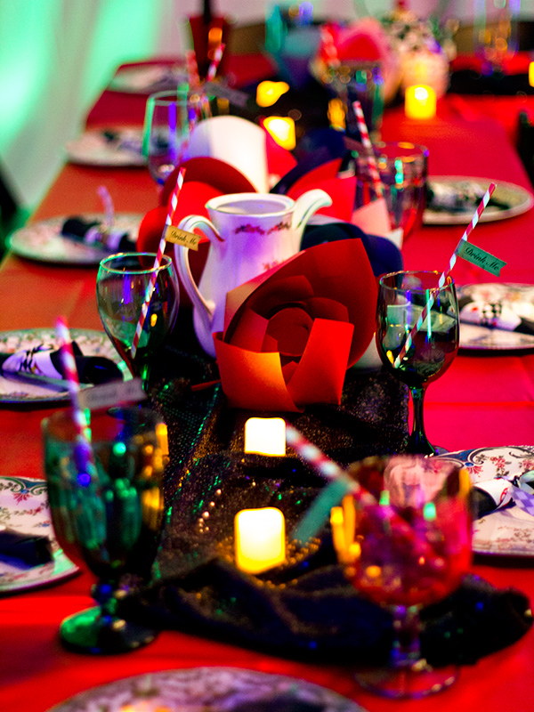 Alice in Wonderland Party Table Decorations