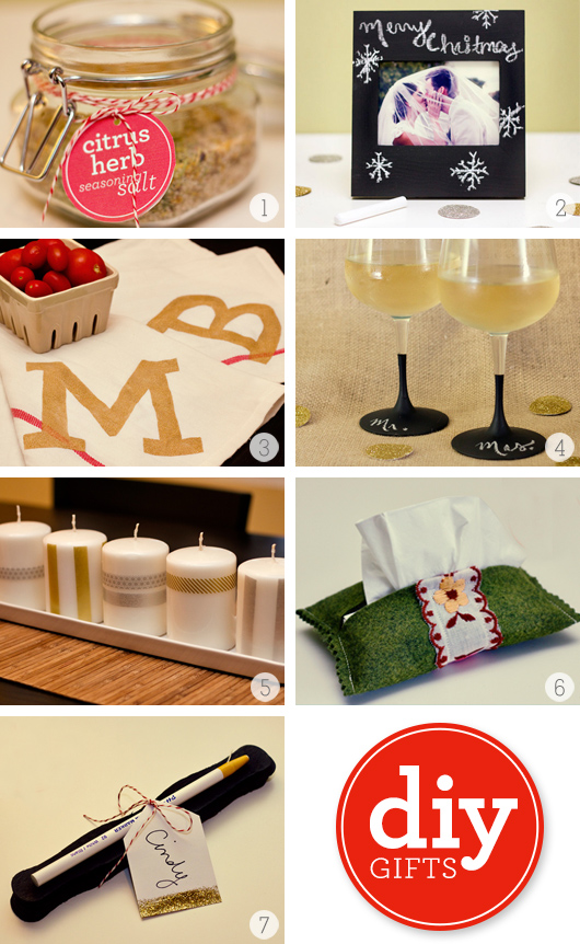 Simple diy christmas gifts from sarah hearts for Simple diy christmas gifts