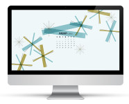 January 2014 Calendar Wallpaper