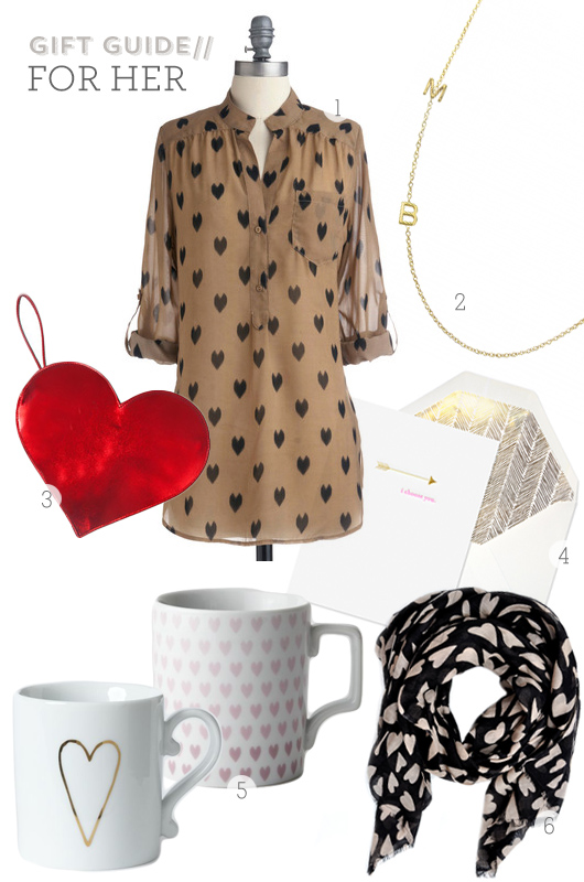Valentine's Day Gifts for Her from Sarah Hearts