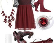 Oxblood Inspiration Board