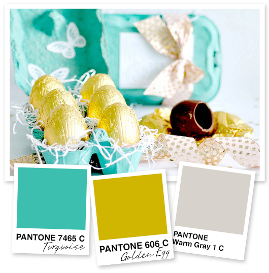 Turquoise, Gold and Silver Color Palette by Sarah Hearts