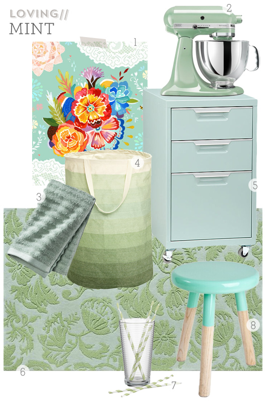 Mint Home Decor Board By Sarah Hearts