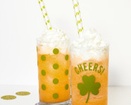 DIY St. Patrick's Day Cups