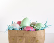 DIY Paper Bag Easter Baskets