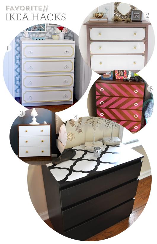 Sarah Hearts | Favorite Ikea Dresser Hacks