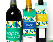 DIY St. Patrick's Day Printable Bottle Labels