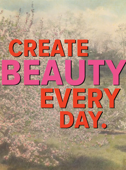 Create Beauty Everyday