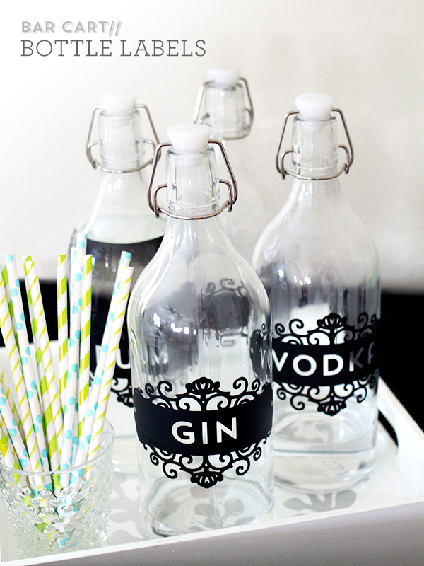 diy labels for bottles - DIY Projects