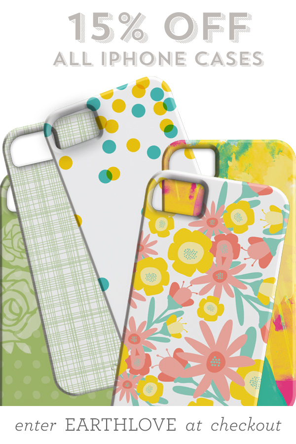 15% Off All iPhone Cases 4/22 Only!