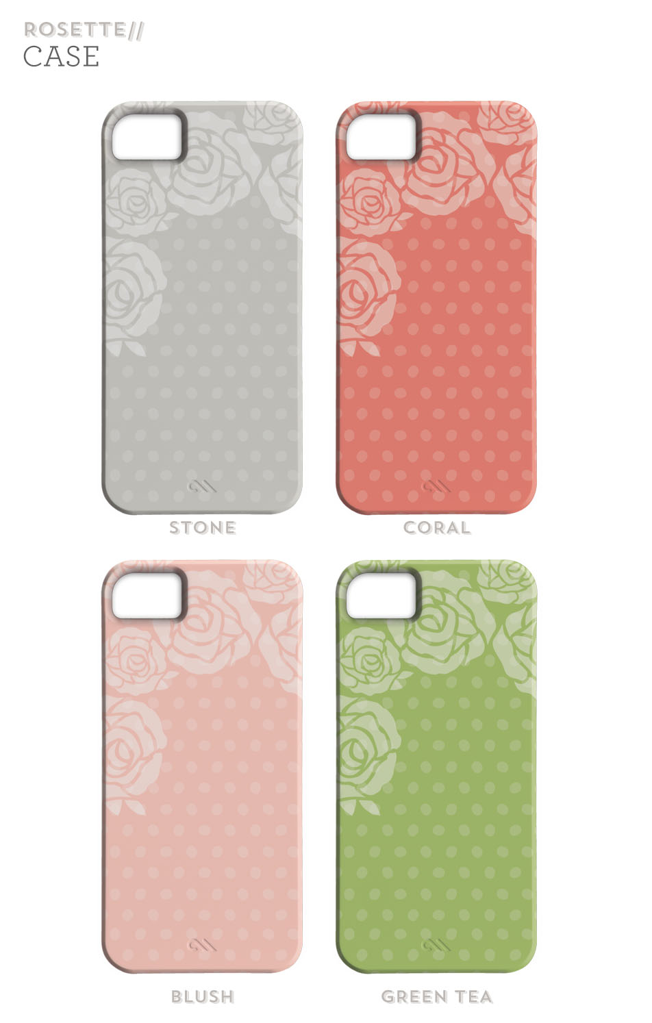 Sarah Hearts | Floral iPhone 5 Cases