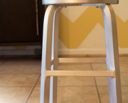 MSN Hearts Giveaway // Aluminum Spin Stools