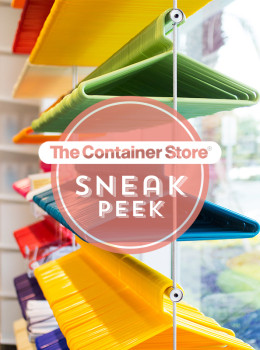 Orlando Container Store Sneak Peak | Sarah Hearts