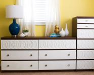 DIY Ikea Malm Mid-Century Modern Dresser