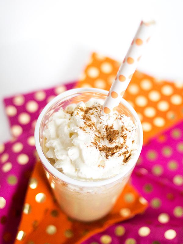 Biscoff Cookie Butter Milkshake | Sarah Hearts