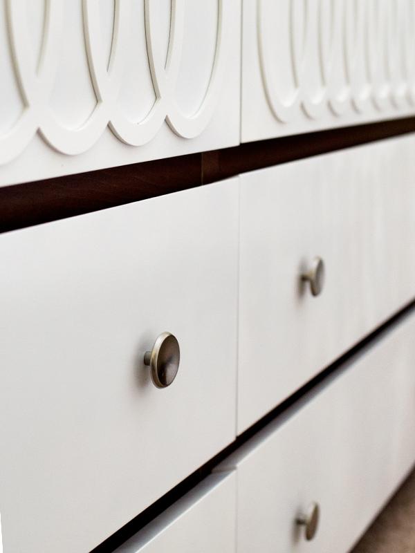Modern Furniture Knobs diy ikea malm mid-century modern dresser - sarah hearts