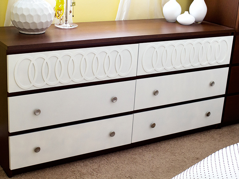 diy ikea malm mid century modern dresser sarah hearts. Black Bedroom Furniture Sets. Home Design Ideas