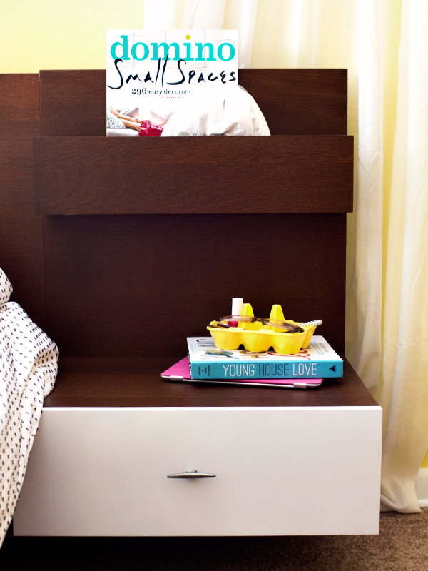 DIY Mid-Century Modern Ikea Malm Bedside Table | Sarah Hearts