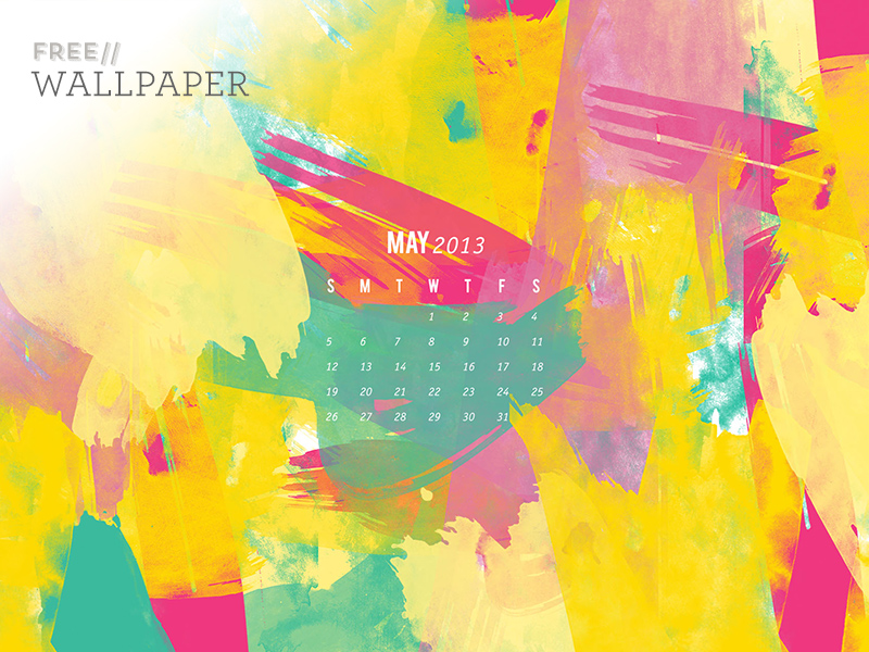 May Calendar Wallpaper | Sarah Hearts