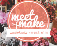 Meet + Make // Craft Party at West Elm Orlando