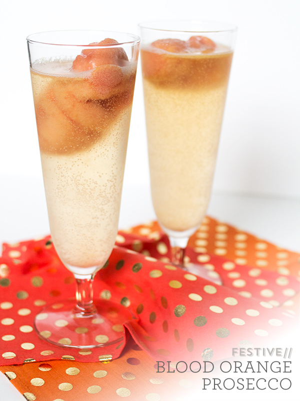 Blood Orange Prosecco | Sarah Hearts for The Flair Exchange