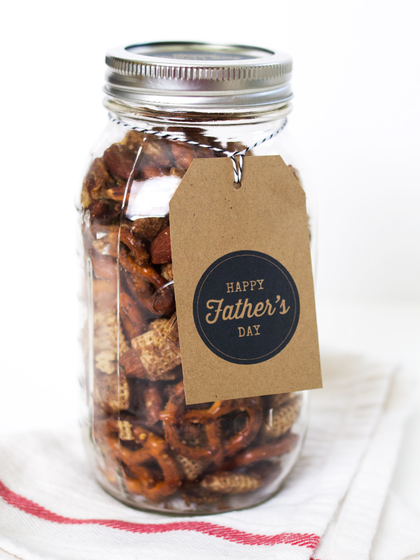 DIY Father's Day Gift with Printable Tags | Sarah Hearts